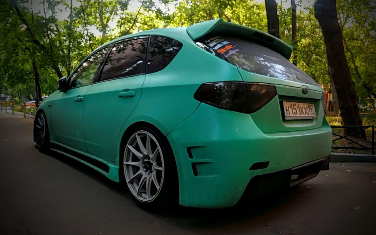 Light And Shadow Car Subaru Impreza Stance