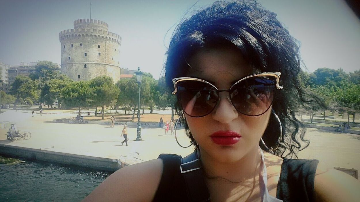 Traveling Greecesummer Greece Memories Thessaloniki White Tower Of Thessaloniki Taking Photos Ilovethessaloniki Ilovegreece Selfie ✌