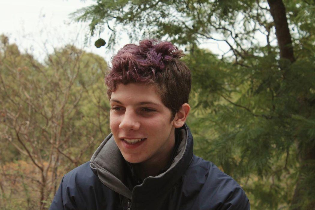 Portrait That's Me Violet Violet Hair Boy