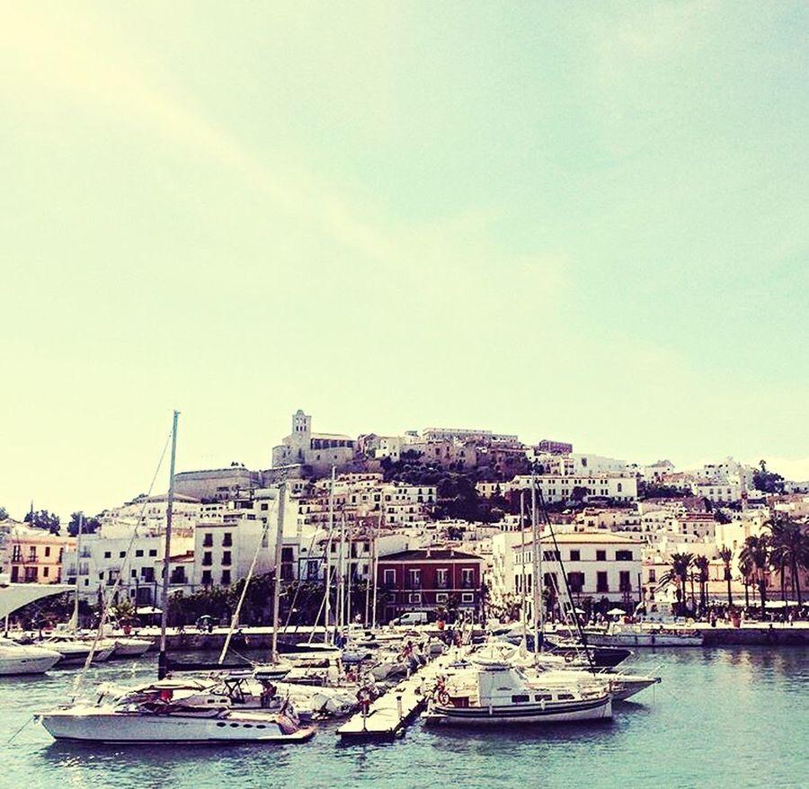 Ibiza Hafen ... Beste Aussicht. Ibiza Harbour Baleares Dreamisland Lovemylife Holidays Besttime