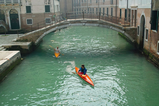 Built Structure Channels Floating On Water Outdoors River Town Travel Destinations Travel Photography Venice, Italy Water Waterfront