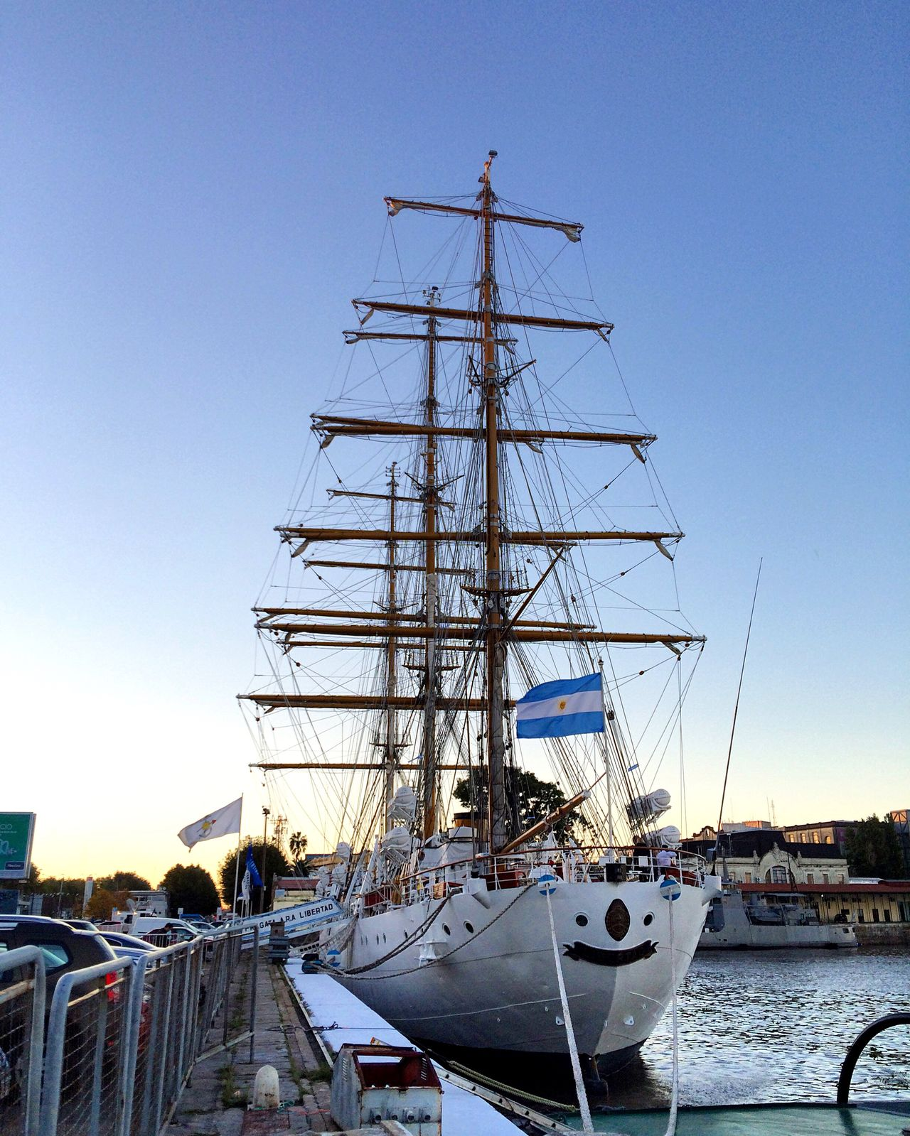 Fragata Libertad. Argentina Buenosaires Buenos Aires Fragata Libertad Frigate Tall Ship Sailing Ship Vessel Sailer Sailboat Sailing Boat Sails Sailing Sail Away, Sail Away Navy Navigation Argentina Photography Argentine Navy Marine Mast Port Harbour Harbor Harbour View Harbor View