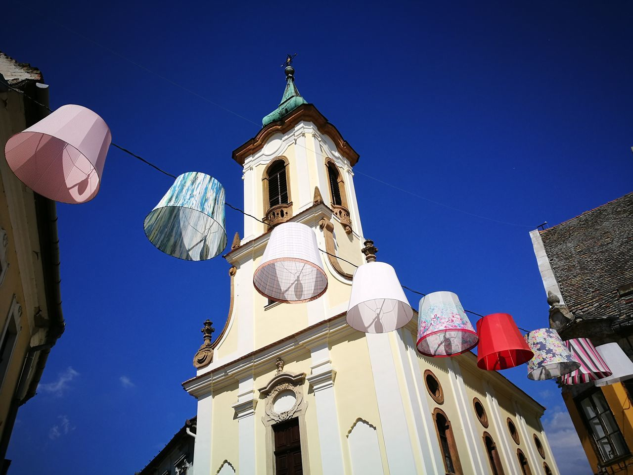 Architecture Low Angle View Building Exterior Sky Clear Sky Church Szentendre