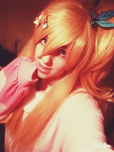 KAWAII Lucy Heartifilla Fairy Tail <3 Cosplay Kigurumi Cosplayer Girls 💓💜