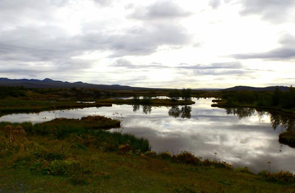 Landscape Sky Water Lake Nature Natural Parkland Thingvellir Þingvellir National Park þingvellir Thingvellir National Park Scenics Beauty In Nature Tranquil Scene Nature_collection Iceland Memories Nature Photography Iceland_collection Iceland Trip Iceland EyeEmNewHere