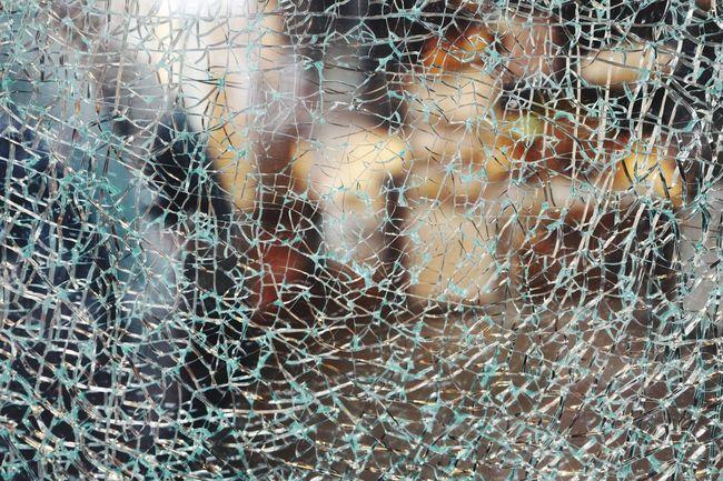 Broken Glass Catching A Flight