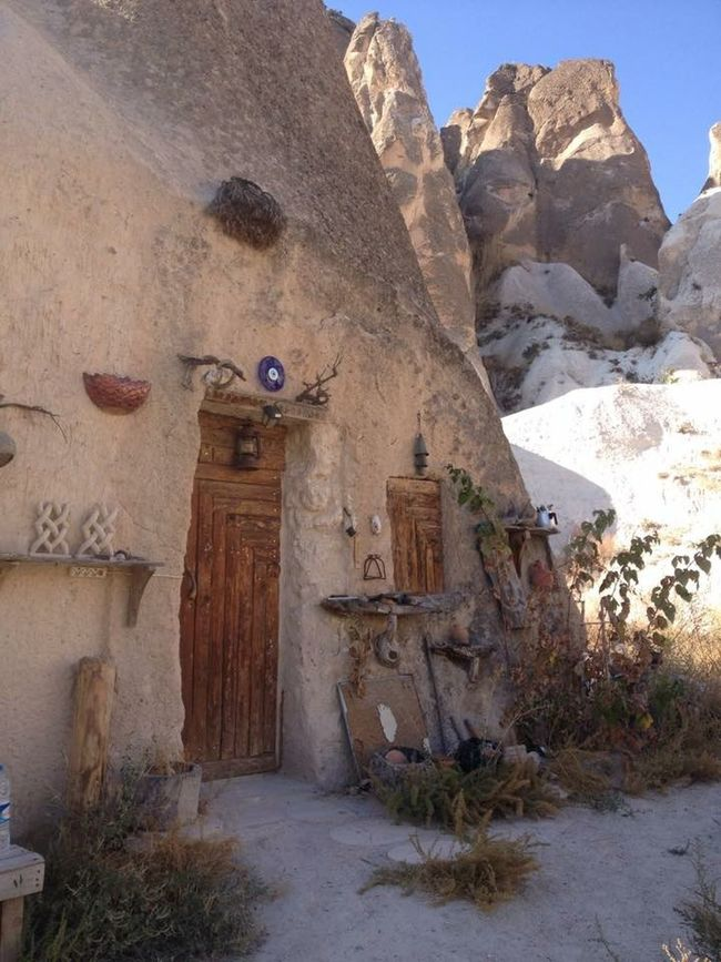 Cappadocia Turkey Traveling Backpacking Cave House