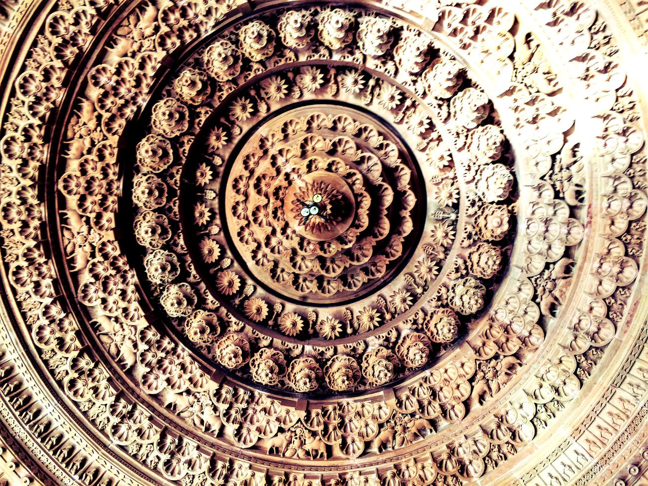Temple Ceiling India Architecture Temple Ceiling Carving Ugam Khetani First Eyeem Photo