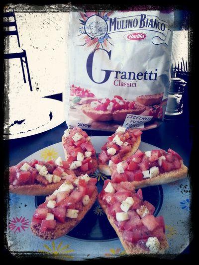 Food Italian style!! Yummy!!