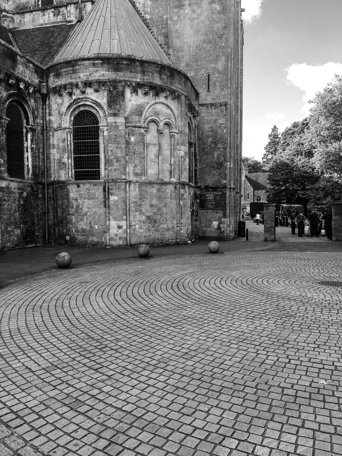 Romsey Architecture Round Bricks Blackandwhite Blackandwhite Photography Circles History Historical Building