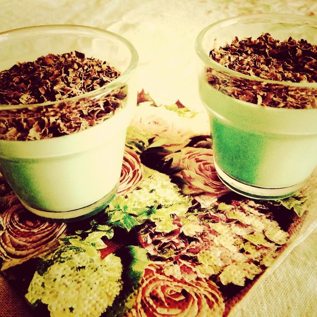 Mint Panna Cotta Home Sweet Home Love Cooking
