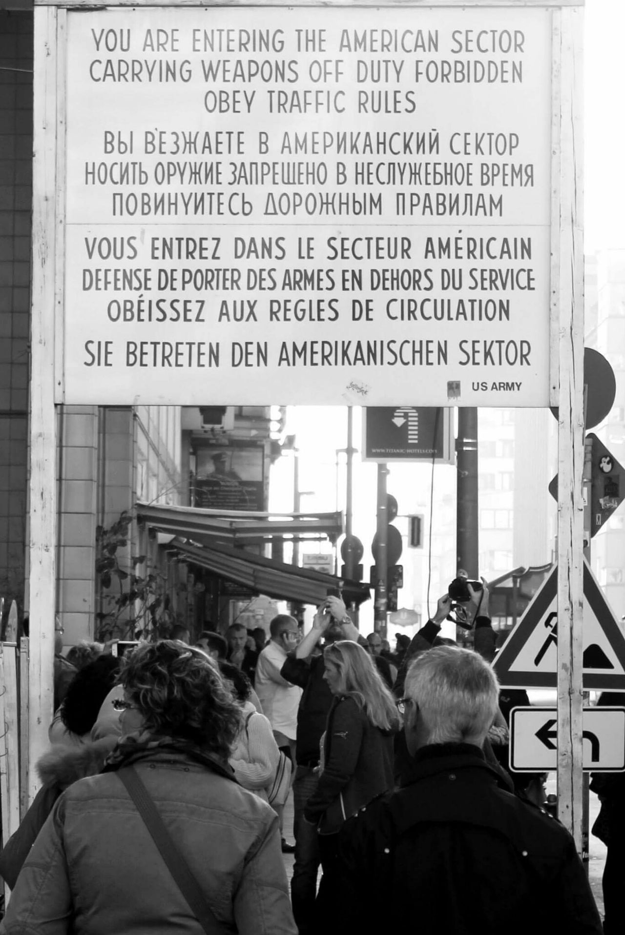 Under Pressure Berlin Checkpointcharlie Europe Germany Usarmy
