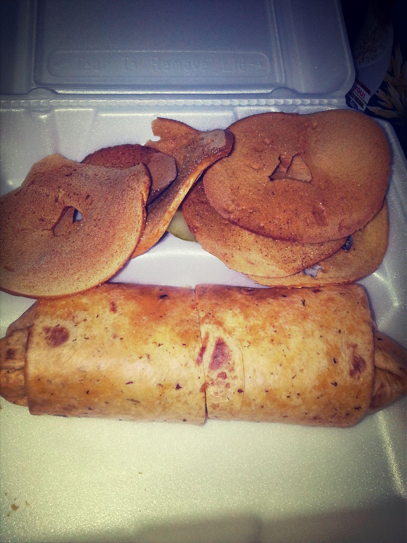 Yummy hummus Sinbad wrap