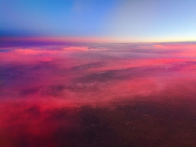 Beauty In Nature Cloudscape Tranquility Sunset Majestic Aerial View Sky Only Sky Cloud - Sky Tranquil Scene Dramatic Sky Cloud 43GoldenMoments Eye4photography  EyeEm Best Shots Eyeemphotography AirPlane ✈ Enjoying The Sights First Eyem Photo BestEyeemShots Cloudscape 43 Golden Monents