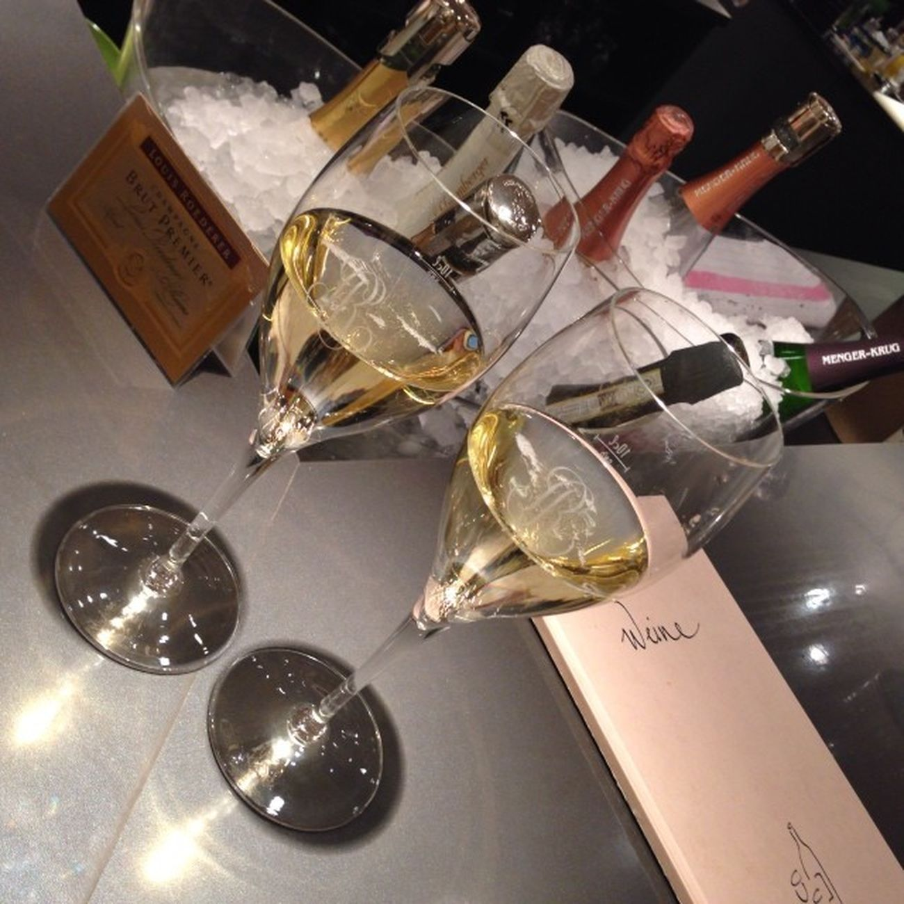 Louis Roederer Vintage 2006, Champagner Bar, Karstadt, Frankfurt am Main, Germamy