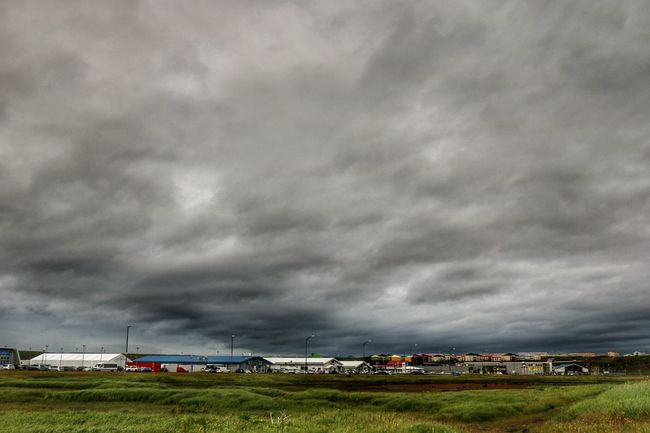 Keflavik Iceland ásbrú Dramatic Sky Windy Day Nature On Your Doorstep Dramatic Sky And Clouds