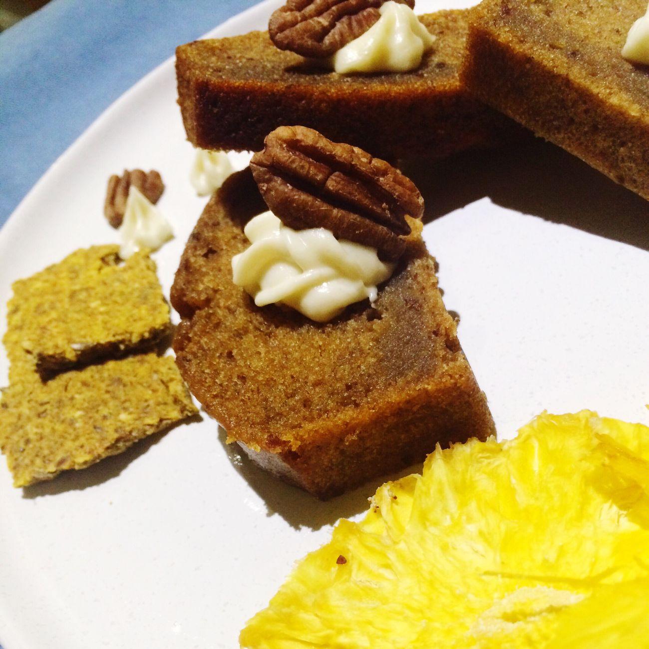 2016/06/19 木葉粗食 香蕉磅蛋糕 咖啡 Banana Pound Cake Coffee バナナパウンドケーキ コーヒー NTD190