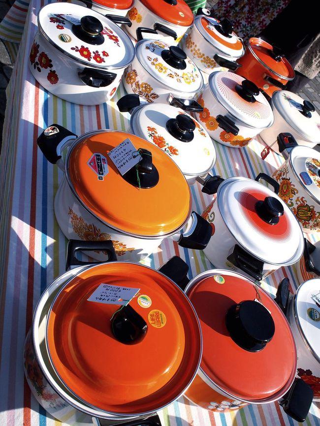 Fleamarket Marché Aux Puces Going To Market Pot