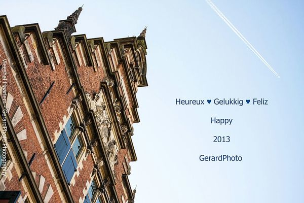 happy new year in Haarlem by gerardphoto