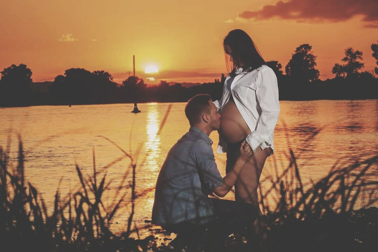 Live For The Story Two People Sunset Water Love Togetherness Summer Happiness Beauty In Nature Outdoors Child Photoshoot Portrait Beautiful Woman Canon_photos Canonphotography Dresden Neuesleben Kinder Geburt Newgeneration Newlife💛 Newlifebegin