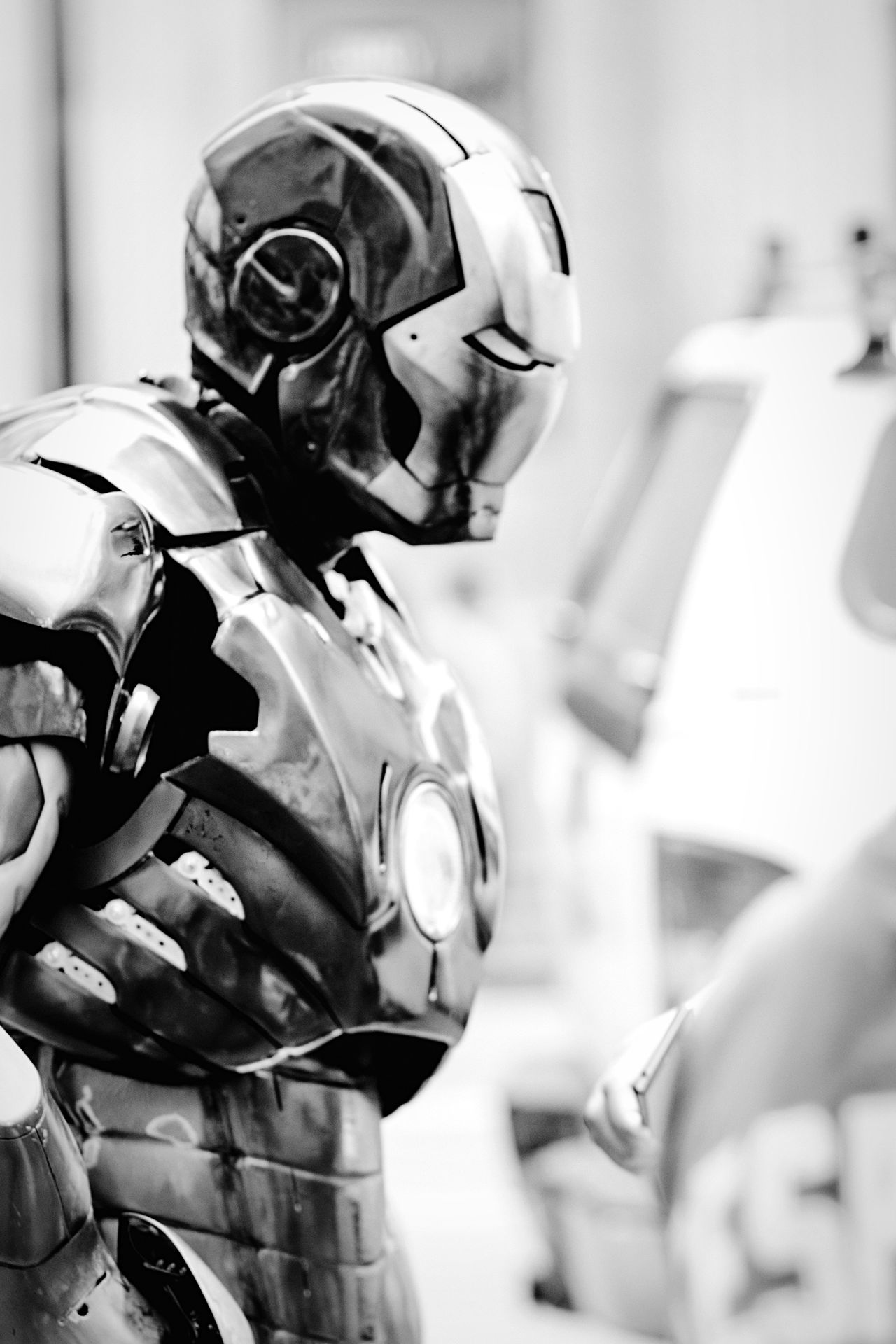 Iron man! Hollywood Ironman Streetphotography Blackandwhite Avengers Taking Photos Streetphoto_bw Open Edit Getting Inspired