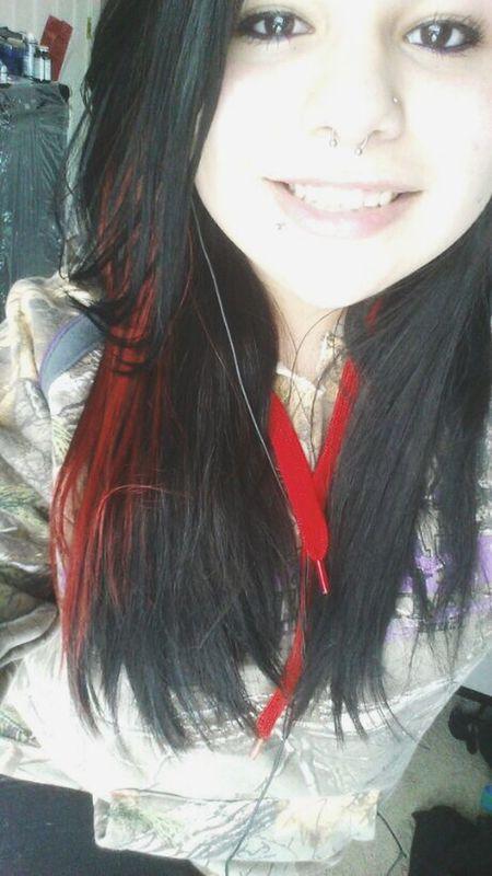 smile cause you're alive. Smile Selfie Redhair Longhair Camo Cabelas