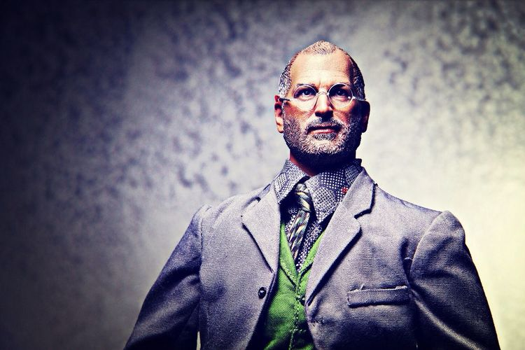 The King of silicon valley Toy Photography Action Figures Portrait Steve Jobs