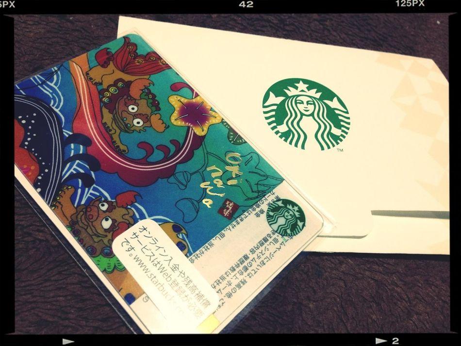 Okinawa の Starbucksから