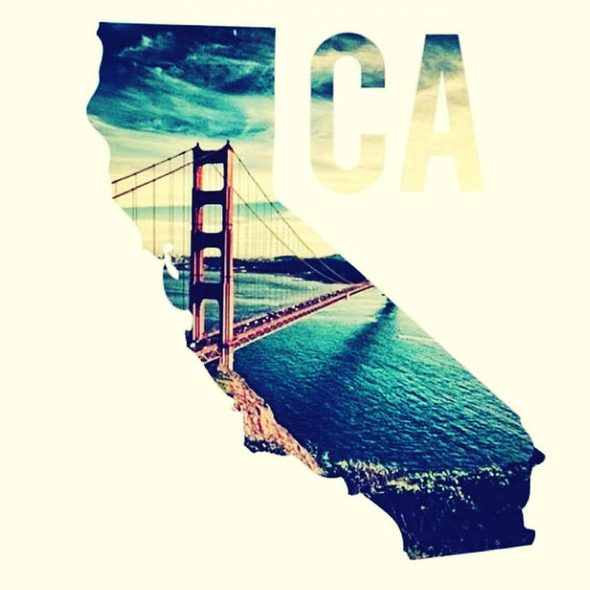 The West coast......