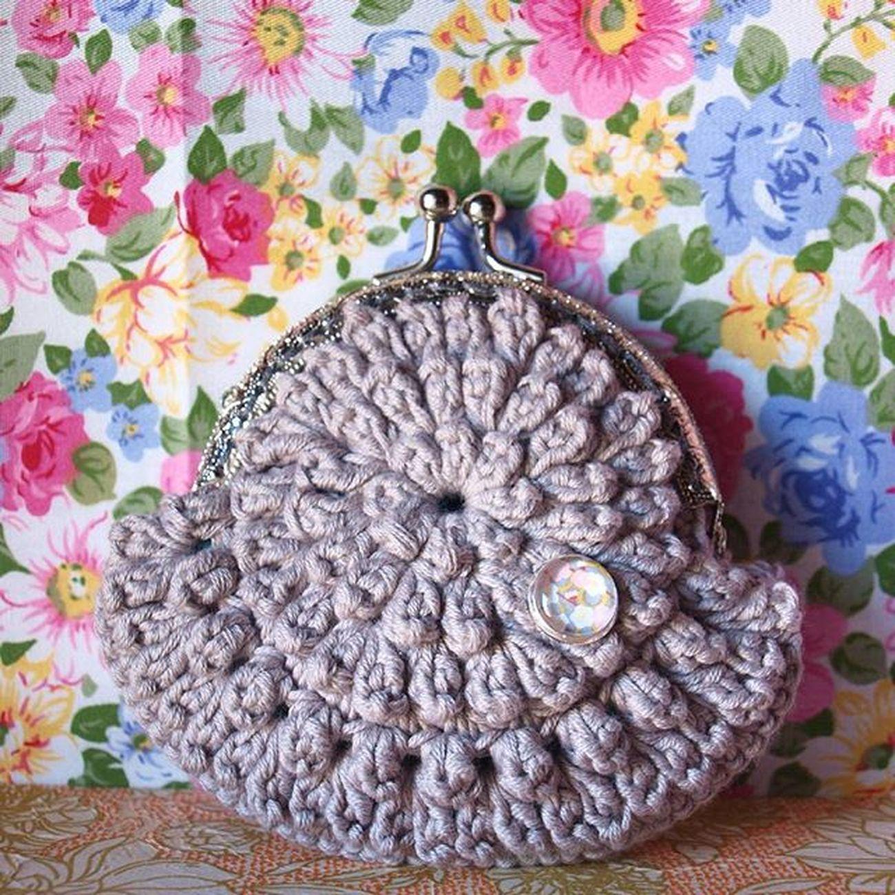 Monedero a Ganchillo Coinpurse Crochet Handmadewithlove