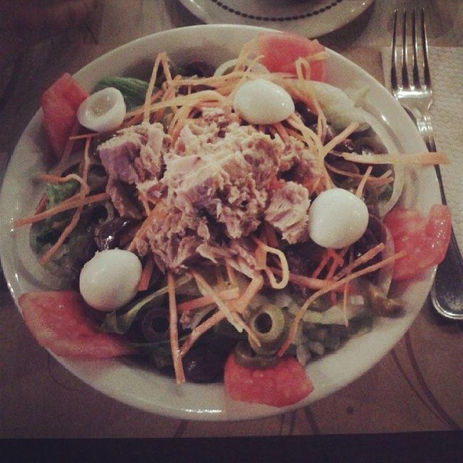 Con Gayoso comiendo sano: Ensalada de atún Sport Goldgym Gym lovers