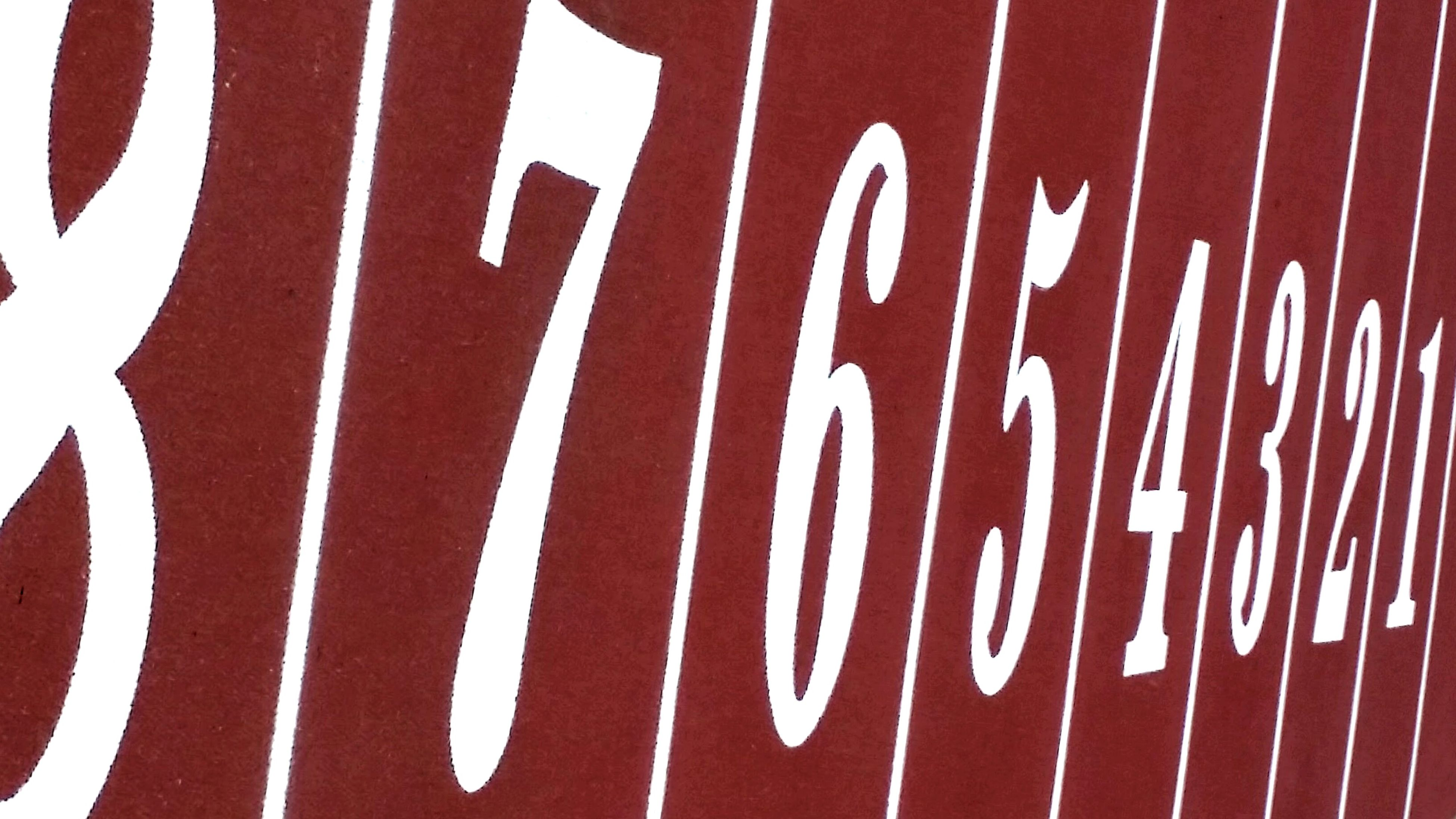 red, text, no people, day, outdoors, close-up