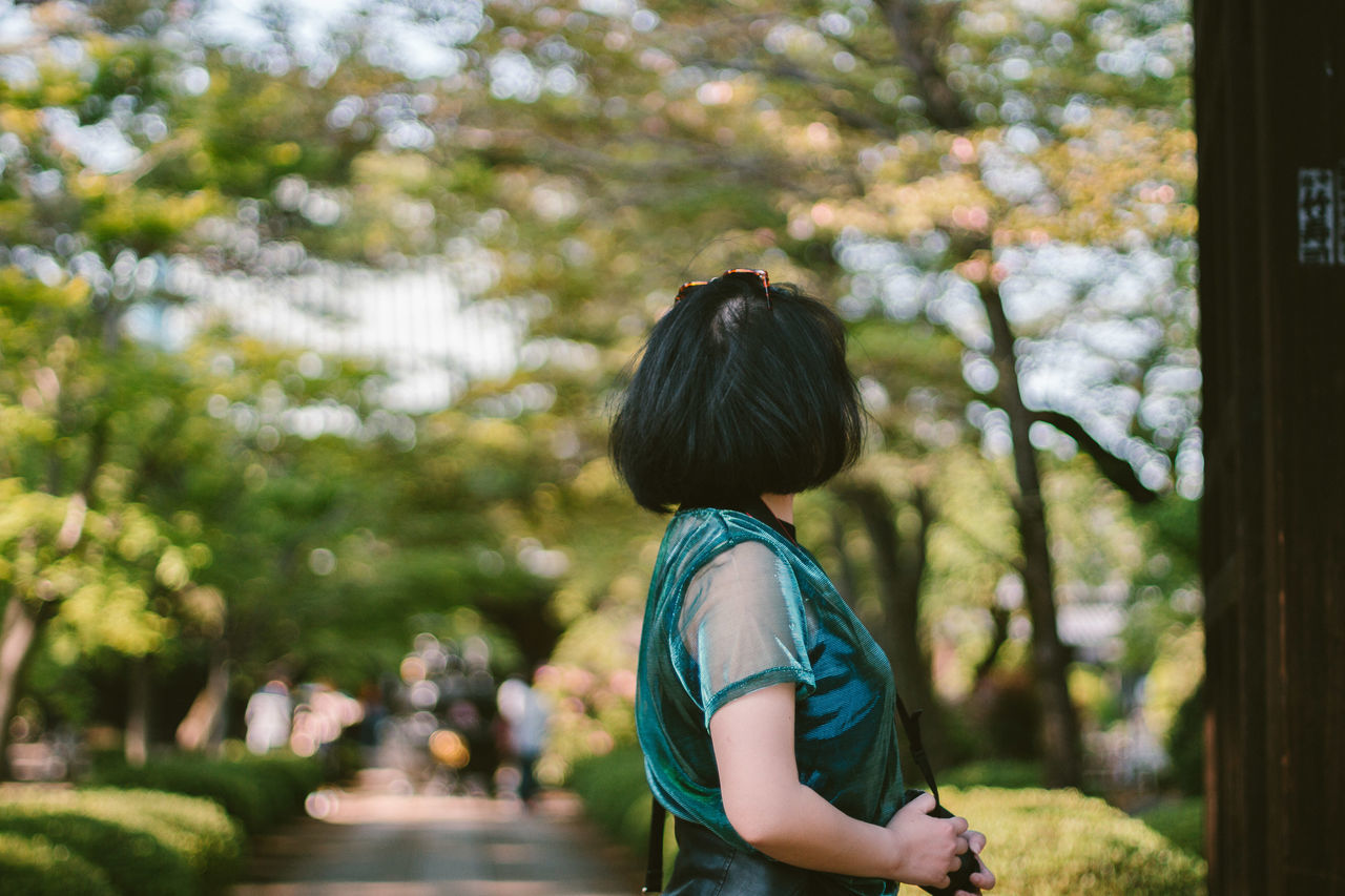 Nice day with friends <3 Bokeh Bokehlicious Color Day Exploring Flowers Grain Green Japan Nature Nature Photography Nature_collection Outdoors People People Watching Tokyo