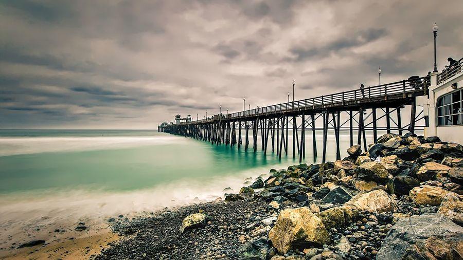 oceanside pier, san diego, ca California Sandiego EyeEm Best Shots Sandiegophotos Leucadia Encintas Showcase May Minimal Minimalism San Diego Encinitas Clean Crisp Relaxing Beautiful Outdoors Pacific Coast Ocean Ocean Waves Oceanside Surf Surfing Pier