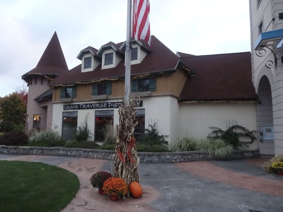 Built Structure Building Exterior Architecture No People City Motion Patriotism Outdoors Flag Day Sky German Village Autumn Colors Showcase March Pure Michigan Frankenmuth Michigan Nature_collection EyeEm