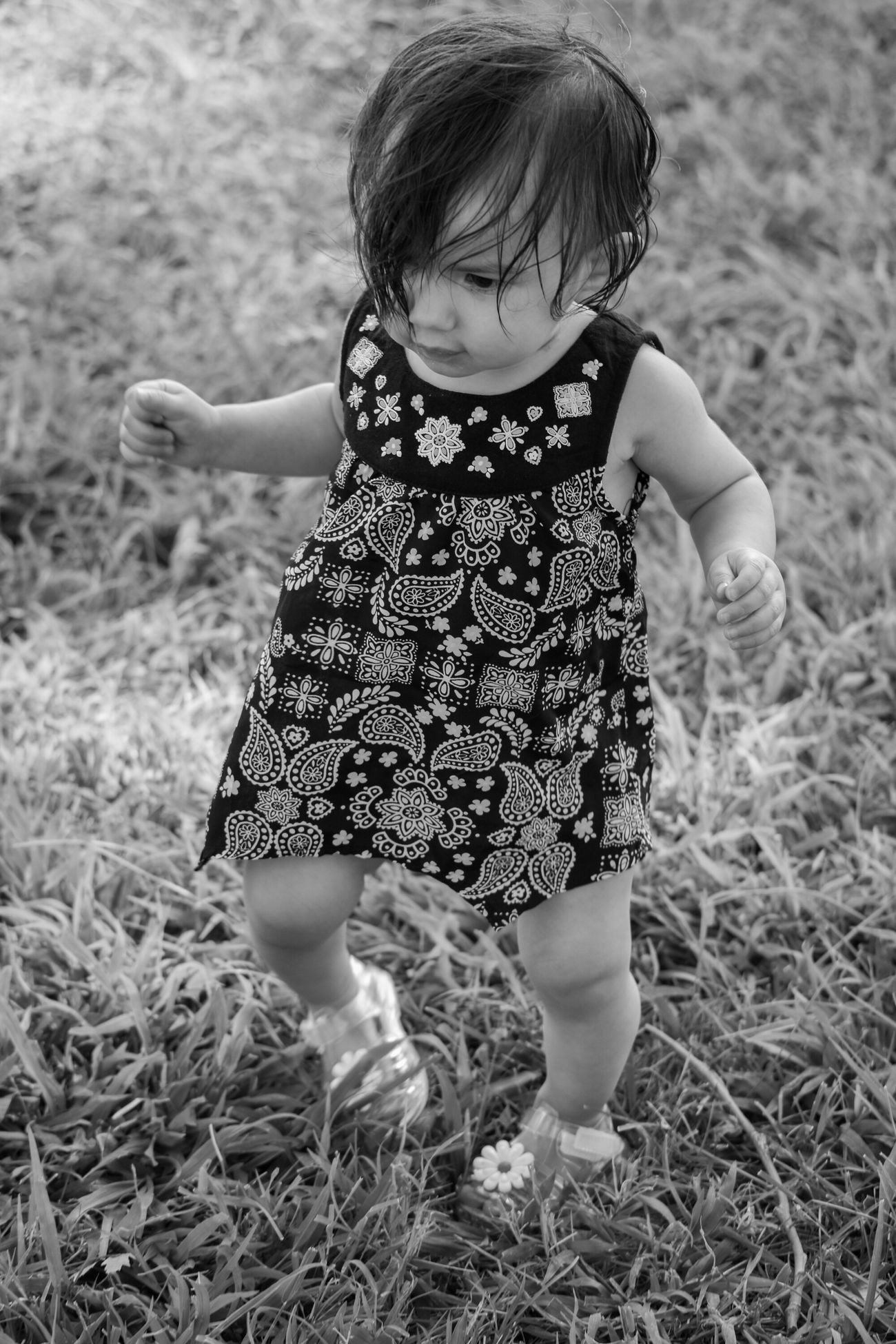 Black And White Portrait Taking Photos Beautiful Baby Children's Portraits MyNeice Lilbabygirl Hello World Photography EyeEm Gallery Blackandwhite