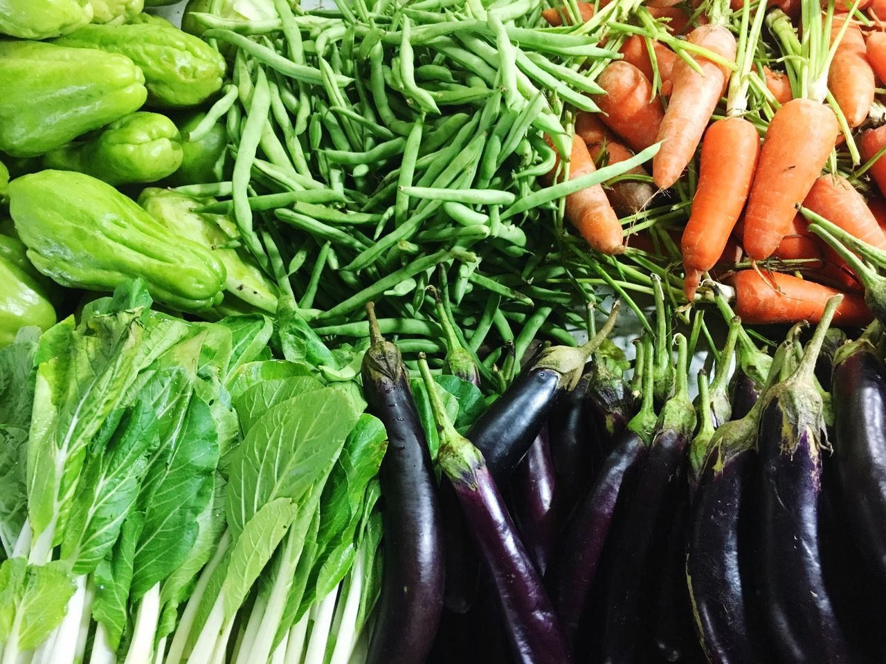 Fresh Veggies Food Healthy Eating Freshness Green Color Variation Retail  Market No People Choice Day Indoors  Close-up Visual Feast