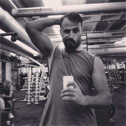 Gym Time JustMe ThatsMe Blackandwhite