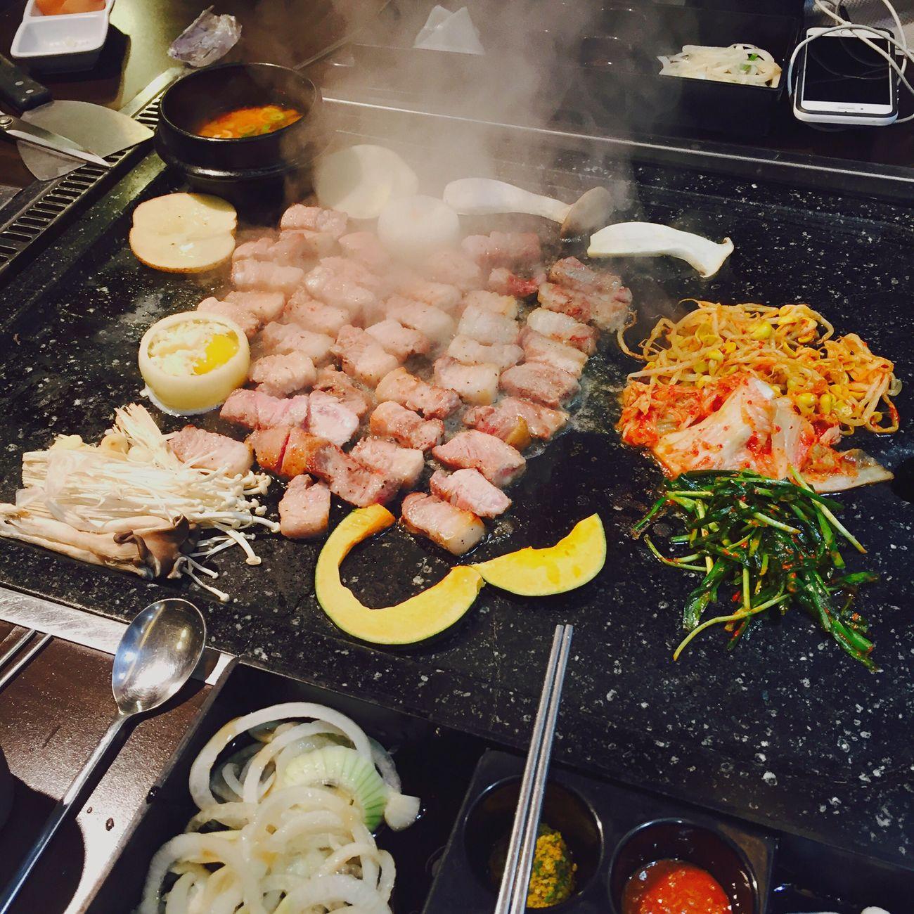 Korea Food Korean Food Koreanfood Seoul Eating Food Delicious ♡ Hi! Koreangirl Meat! Meat! Meat! Meat Love Meat