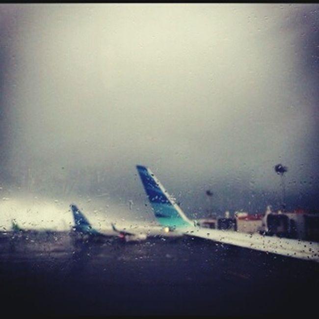 @ Ngurah Rai International Airport Hardrain Delay