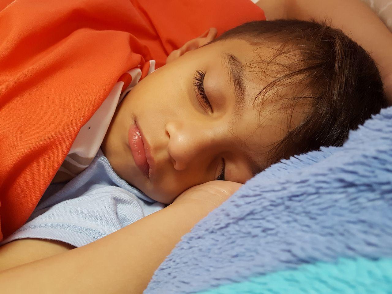 Children Photography Portrait Nephew  Sleeping Morning Beautiful Love