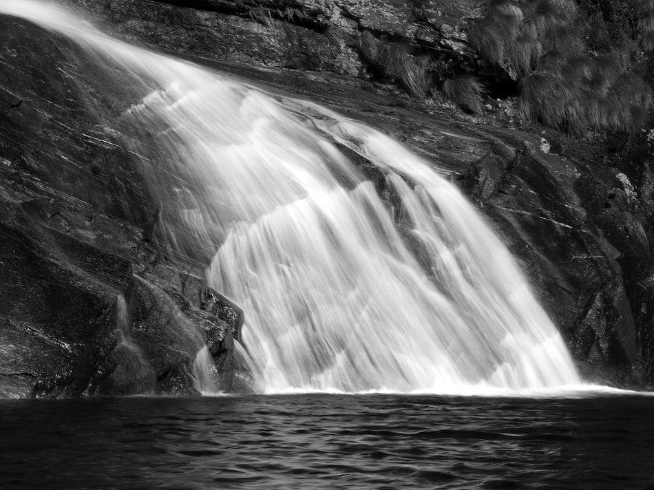 Beauty In Nature Day Long Exposure Motion Nature No People Outdoors Power In Nature Rapid River Rock - Object Scenics Water Waterfall Waterfront