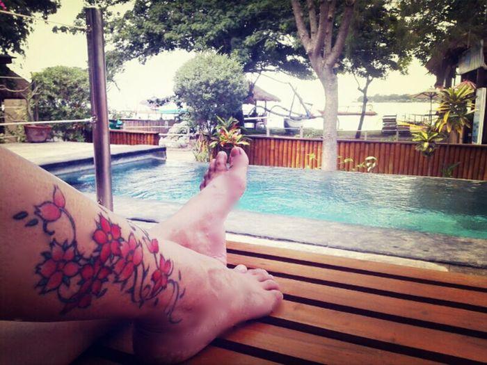 Relaxing Enjoying Life