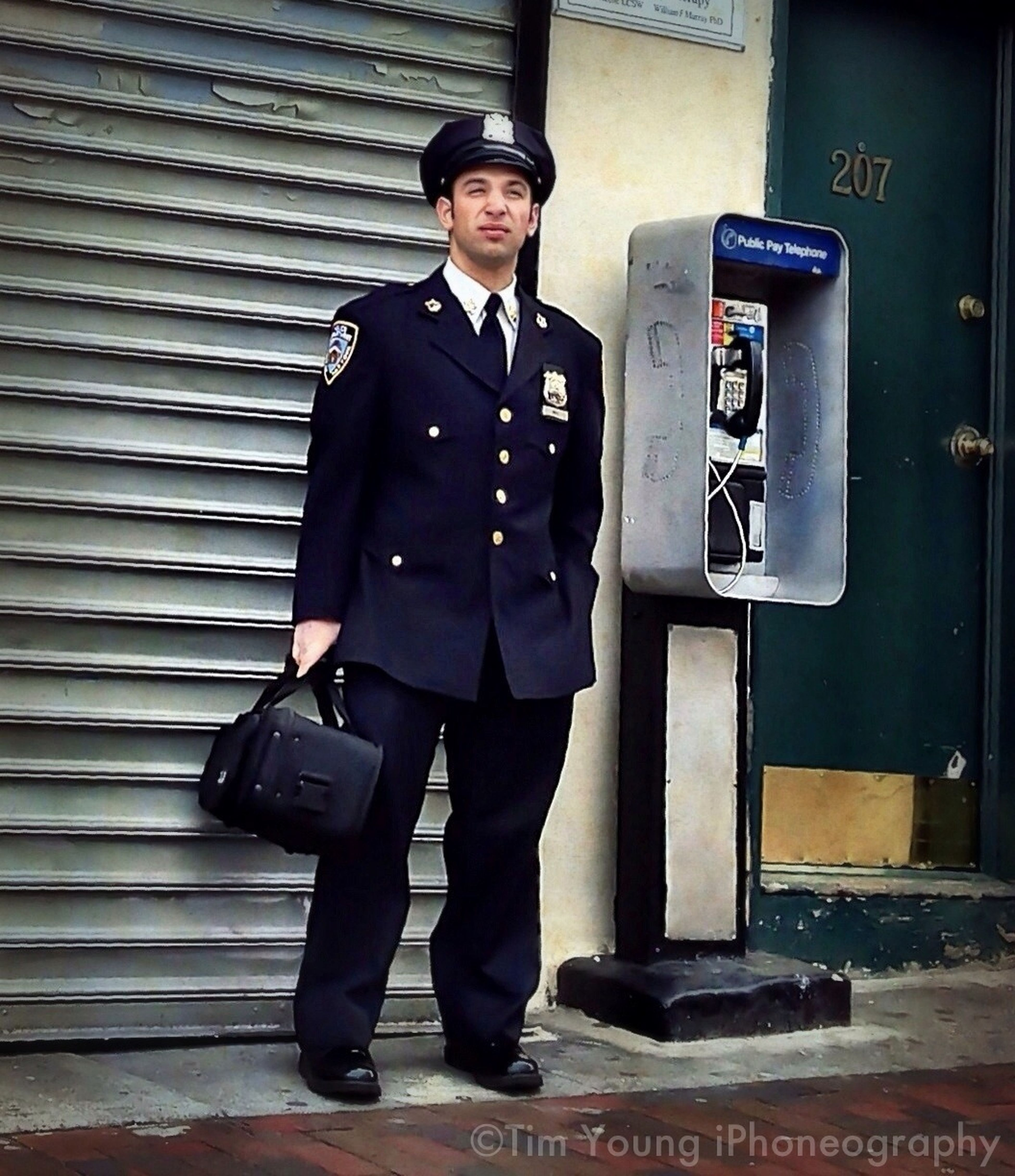 NYPD Blue On A Green Day