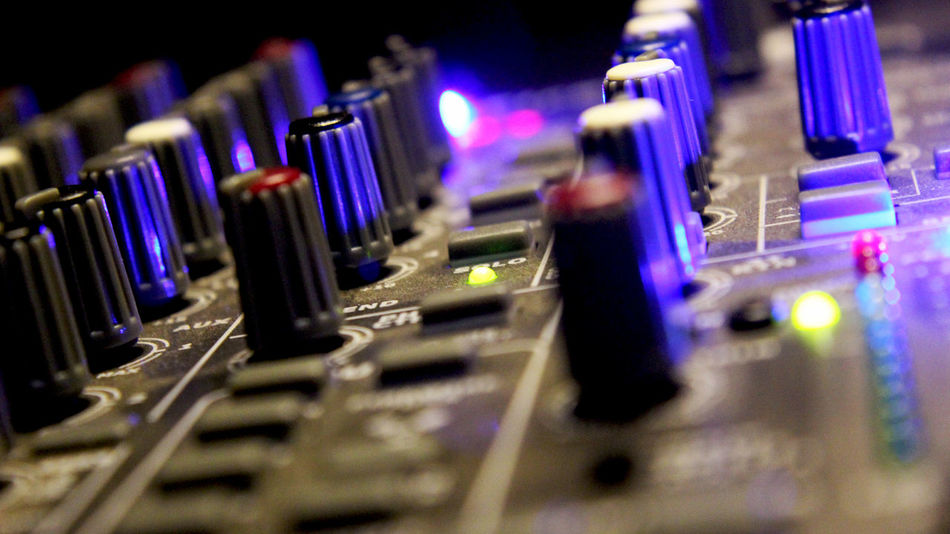 Audio Electronics Audio Equipment Balance Colour Lights Mixer Mixing Music Musical Equipment Tec Technology Volume Control