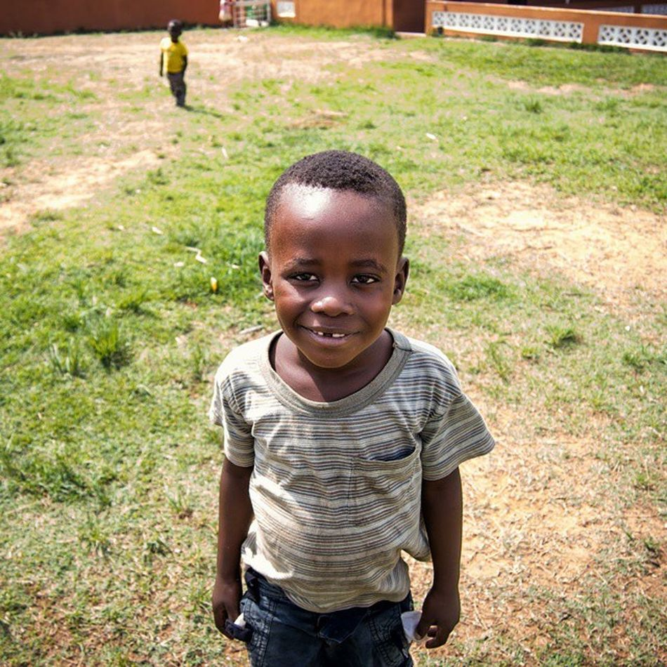 That lopsided grin... 😄 Kazembeorphanage2014 Explore Travel Zambia Africa Faces Of EyeEm Faces Of The World Children Portrait