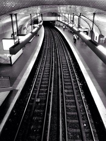 EyeEm Bnw Metro Paris Metro Subway Metro Paris