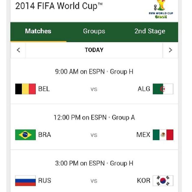 Let's go Mexico Worldcup Brazil GoingToBeACrazyMatch WhoseYourTeamFmlImAtWorkHardlyWorkingSoccer