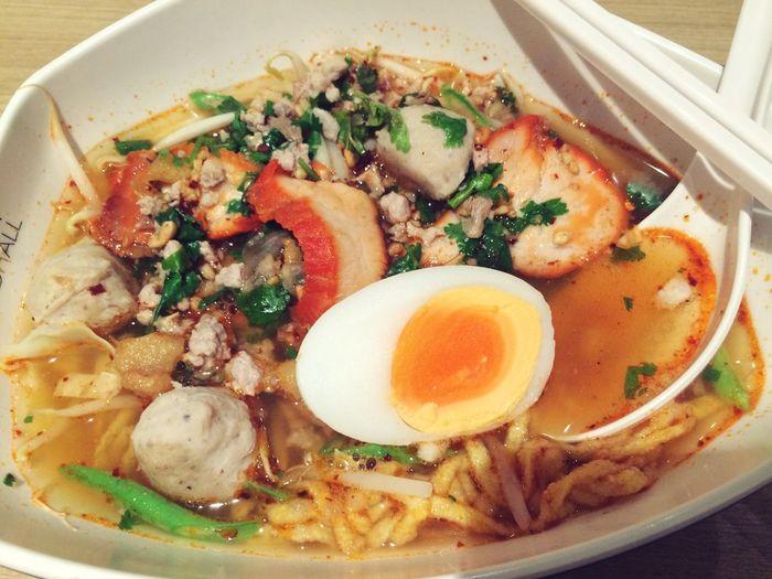 SiamParagon Tomyumsoup Spicynoodles Delicious ♡ Nice
