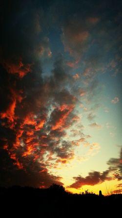 Natur Ciel Himmel Clouds Himmel über Bochum-Hiltrop